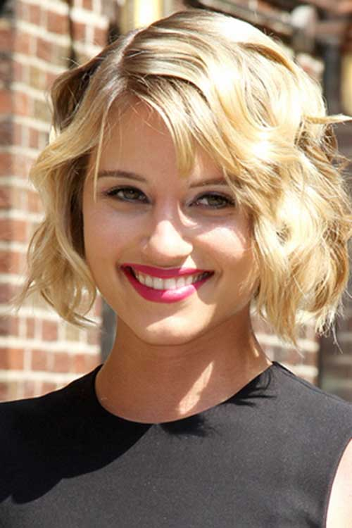 Chic Curly Wavy Bob Hairstyles