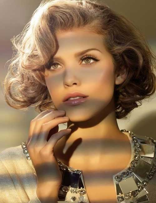 Trendy Curly Bob Hairstyles