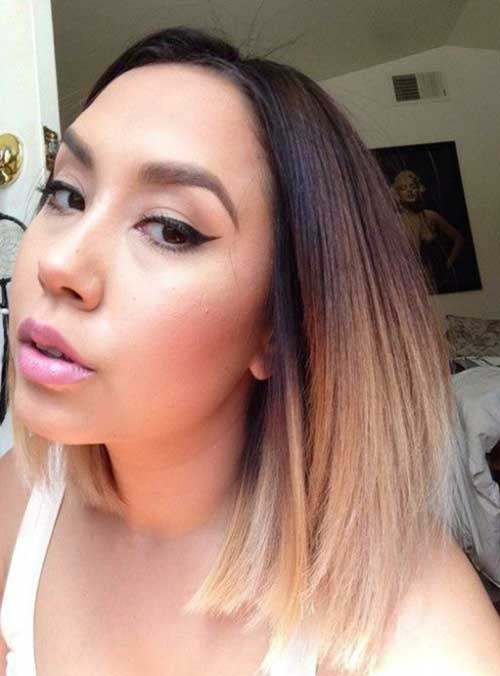 Ombre Hair Color For Short Hair-11