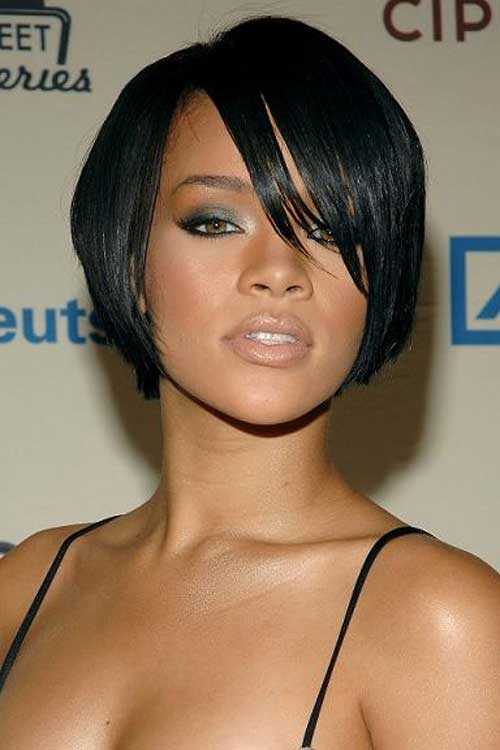 Short Bob Hairstyles for Black Women-10