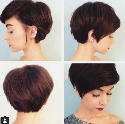 Hairstyles For Short Hair 2018-15