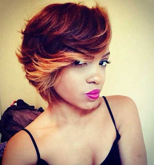 Black Girls Highlighted Bob Haircuts 2018-2018