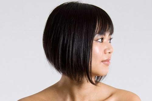 Best Bob Haircuts with Bangs for Round Faces