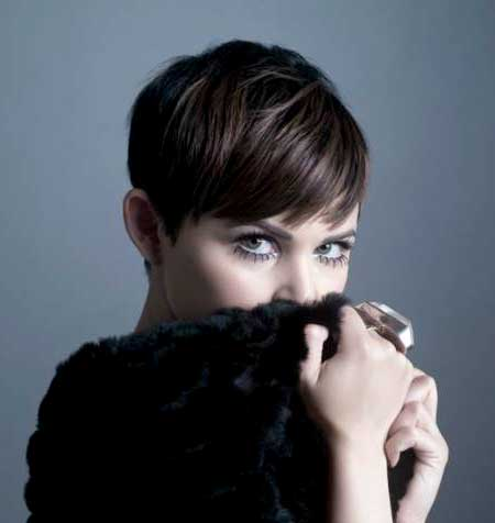 Cute Short Straight Pixie