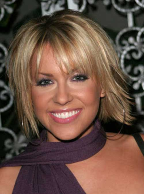 Layered Blonde Bob Haircuts Pictures