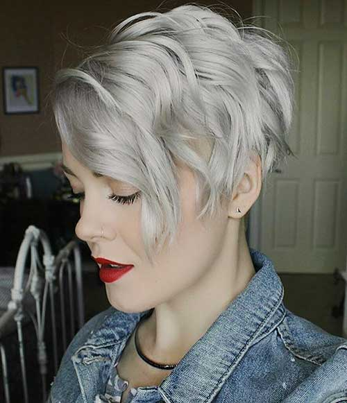 Short Choppy Hairstyles 2018 - 32