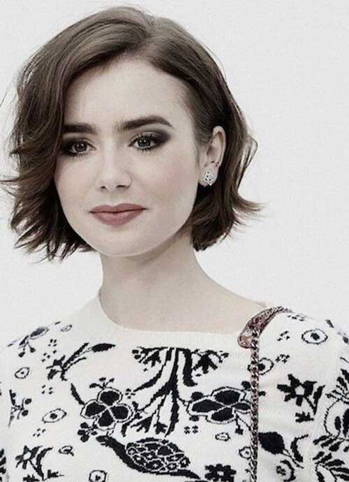 Short Bobs for Round Faces-9