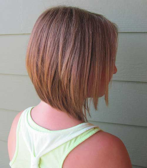 Inverted Straight Blonde Bob Cut Ideas