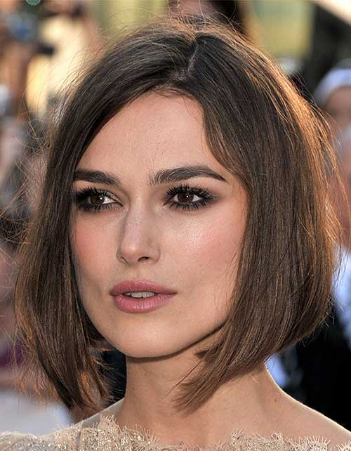 Keira Knightley Straight Medium Hairstyles