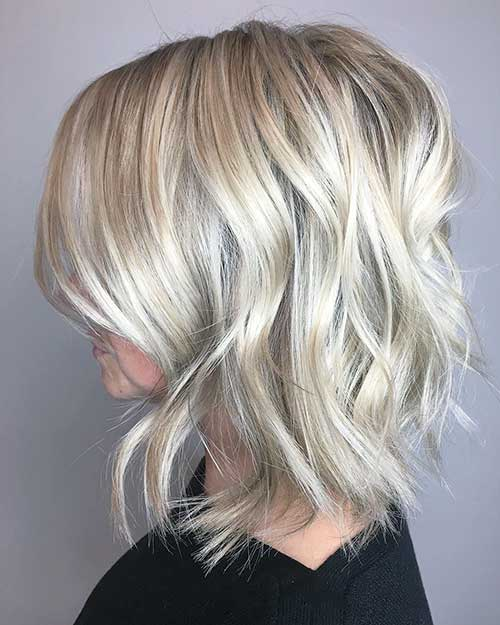 Short Blonde Hair 2018 - 13