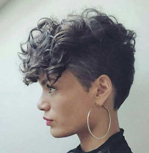 Pixie Cuts for Curly Hair-6
