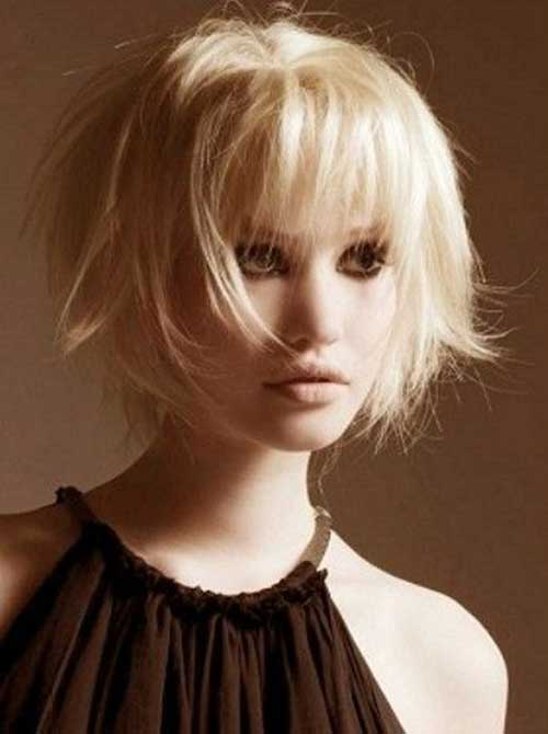 Cool Bob Haircut with Bangs 2018