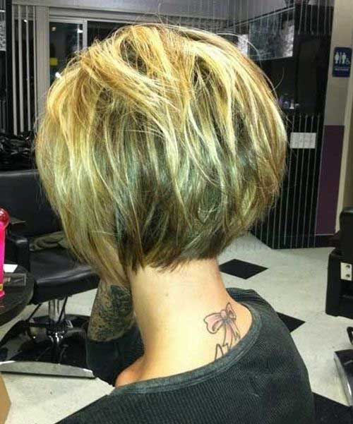 Chic Bob Blonde Hair for Prom