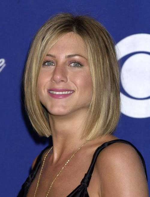 Jennifer Aniston Long Straight Bob