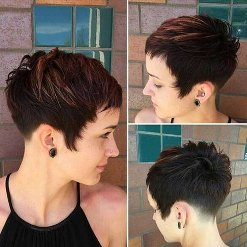 Short Brunette Haircuts