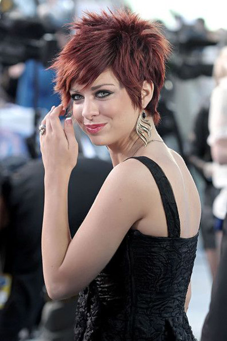 Charming and Exciting Pixie Cut