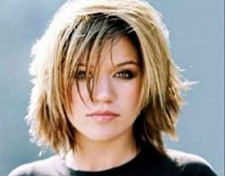 Best Short Hairstyles for Round Faces_6