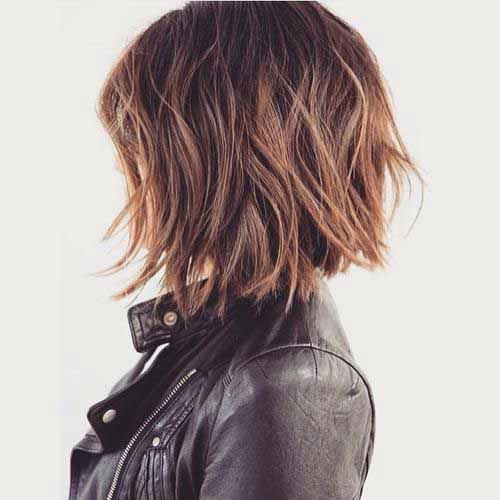 Beautiful Wavy Bob Hairstyles 2018