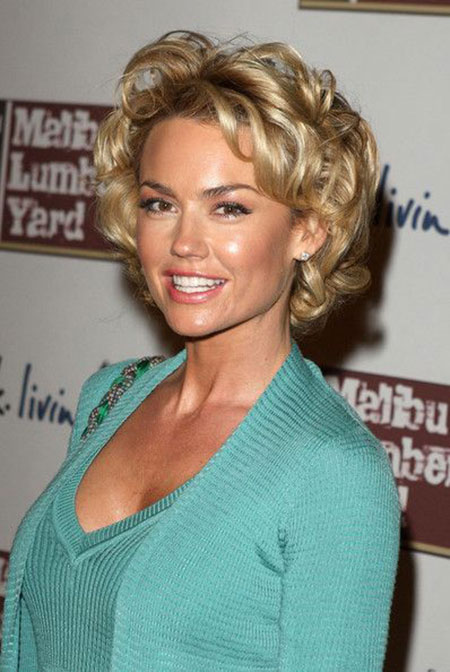 Short Curly Celebrity Hairstyles