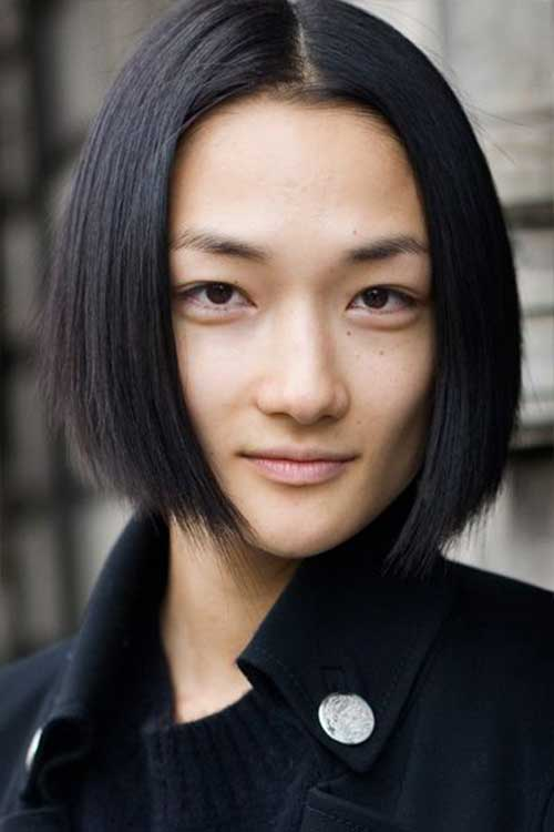 Chinese Straight Bob Hairstyle