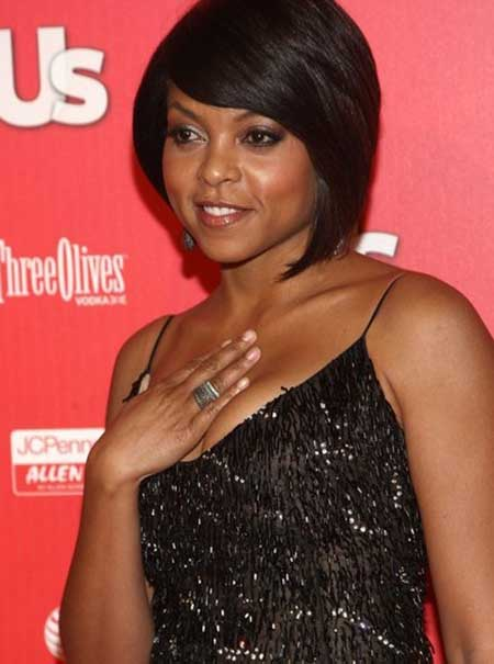 Taraji Black Short Haircut