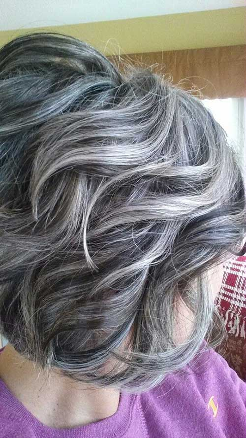 Short Haircuts for Curly Wavy Hair-10