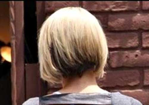 Straight Bob Haircuts Back View
