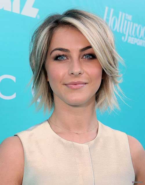 Chic Choppy Blonde Bob Hairstyles