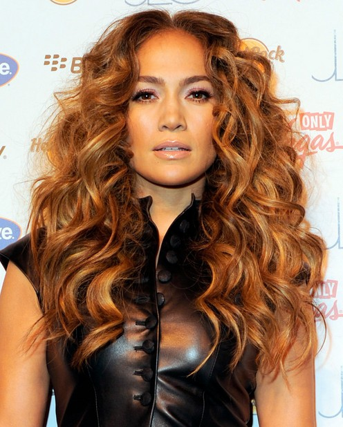 Jennifer Lopez Lange Frisuren: Bouncy Curls