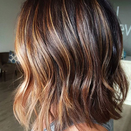 Layered Brown Hair