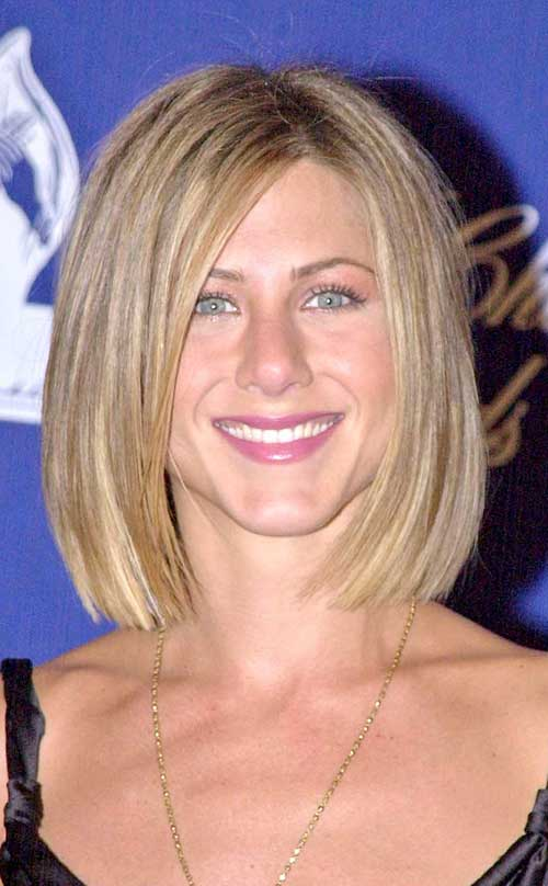 Jennifer Aniston Straight Long Bob Hair