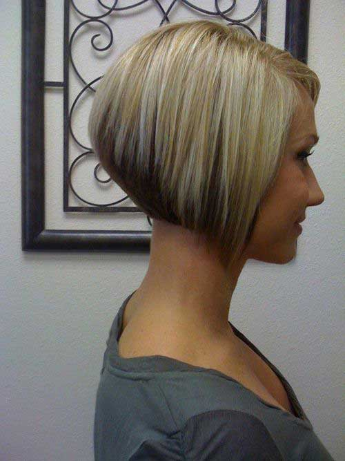 Very Short Bob Haircuts Side View