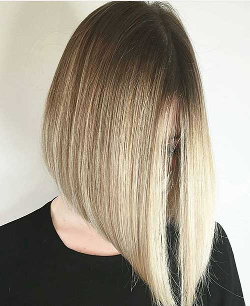 Short Straight Hairstyles 2018 - 28