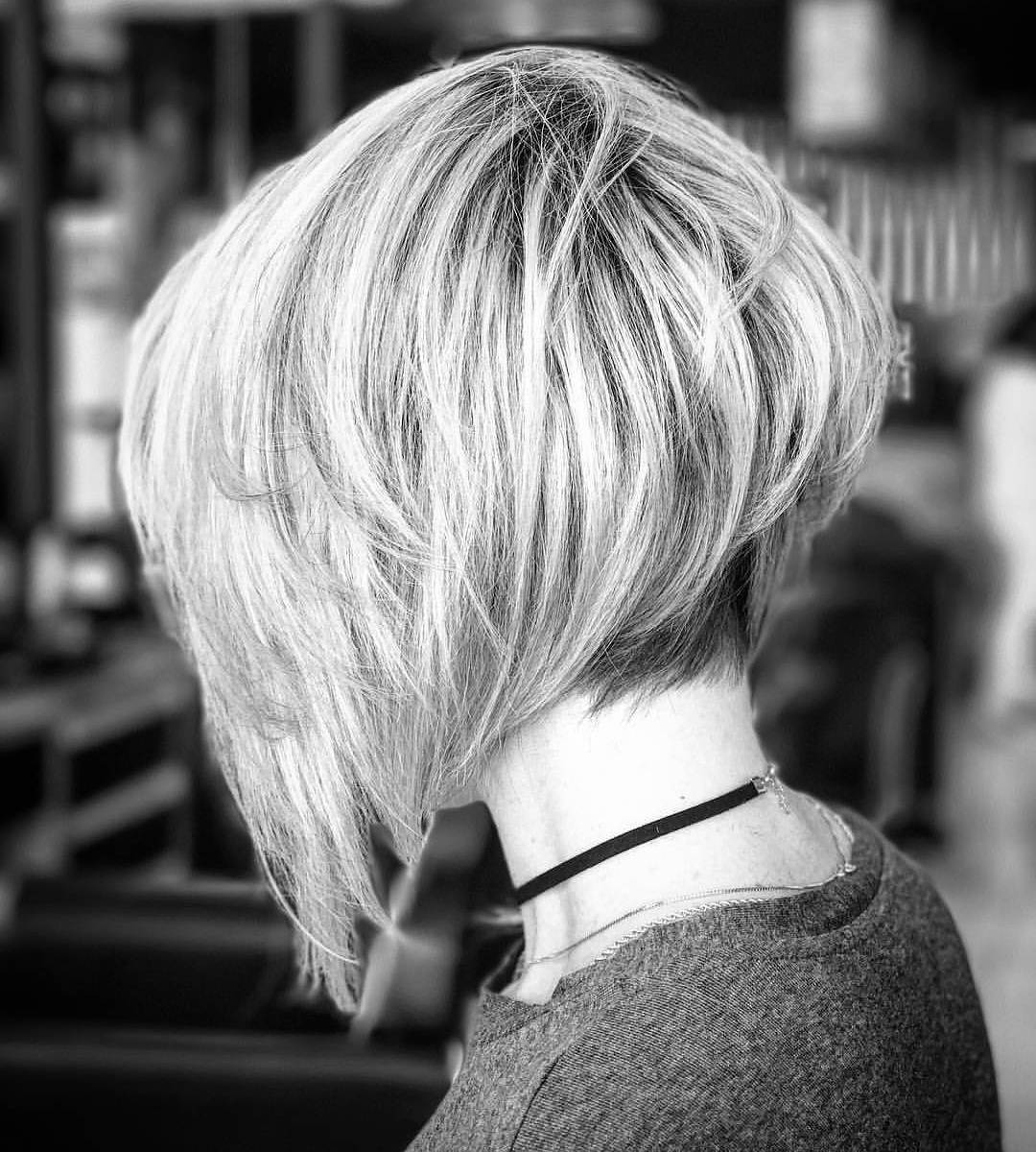 Women Short Haircut for Thick Hair, Short Hairstyle Trends