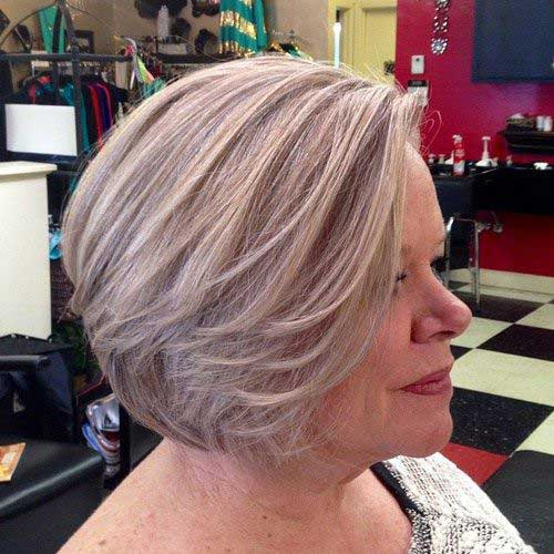 2018 Short Haircuts for Older Women