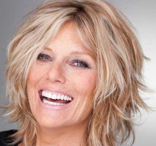 Shaggy Bob Hairstyles Images