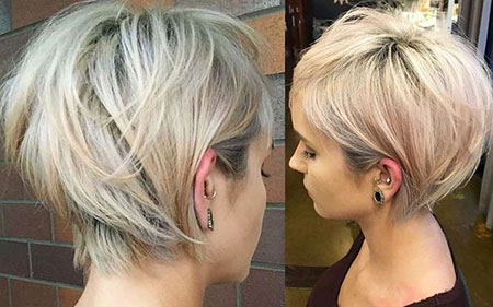 Layered Blonde Hairtyle, Short Blonde Hairtyles Hair