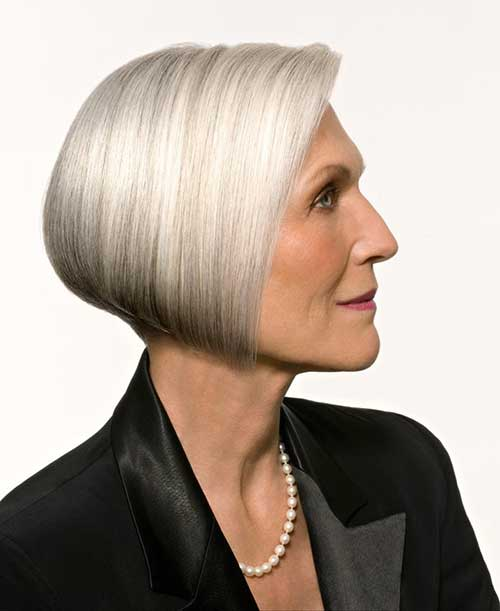 Bob Haircuts for Older Women-9