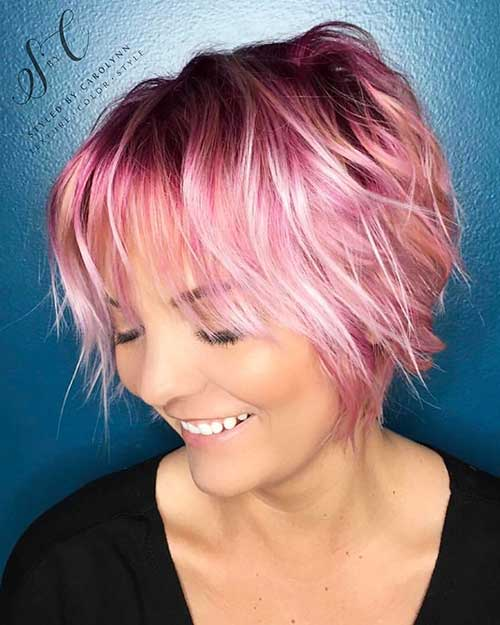 Short Choppy Hairstyles 2018 - 13