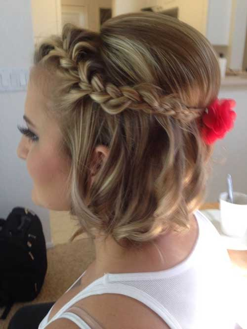 Cute And Easy Hairstyles For Short Hair-10