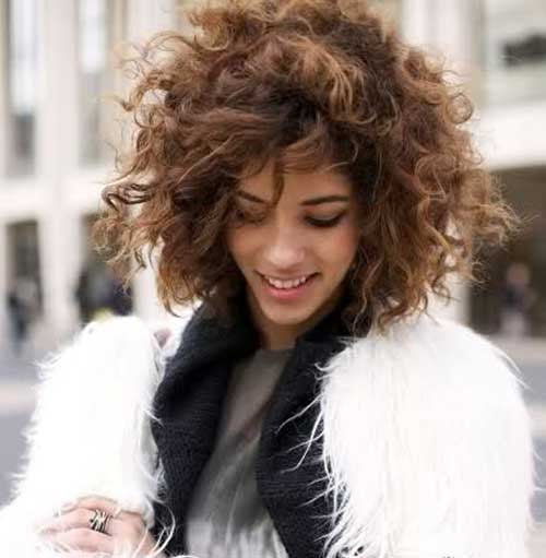 Women Curly Short Hairstyles
