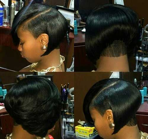 Short Bob Hairstyles for Black Women-8