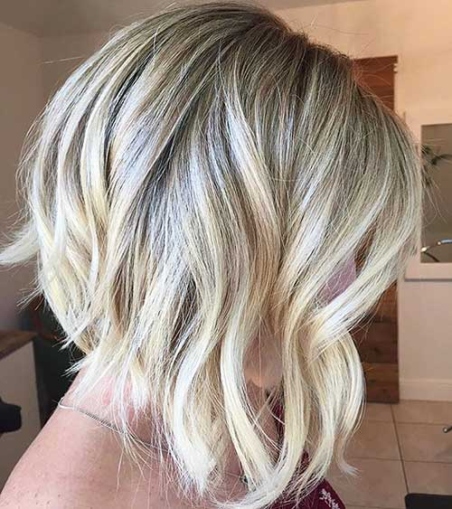 Short Blonde Hairstyles 2018 - 28