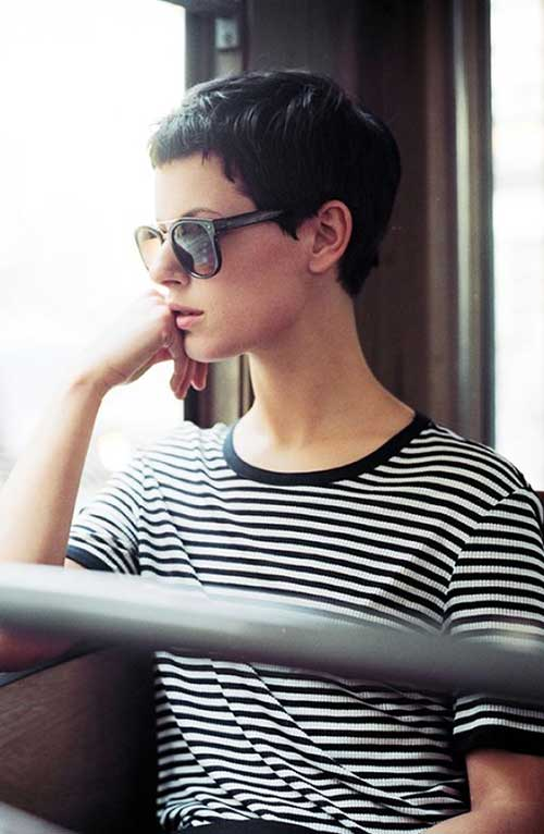 French Style Short Haircuts-11