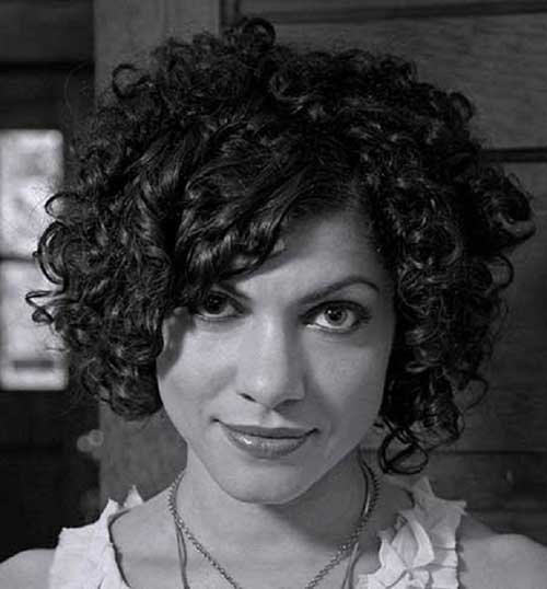 Thick Best Curly Hair Bob Hairstyles