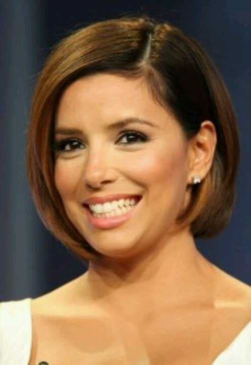 Popular Short Bob Hairstyles Round Face