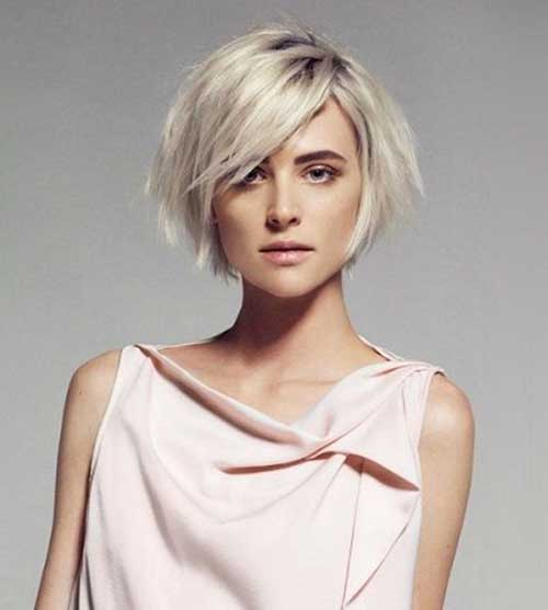 Best Short Bob Hairstyles for Oval Faces