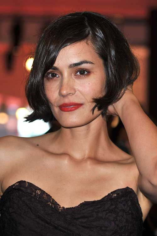 Shannyn Sossamon French Bob Hairstyles