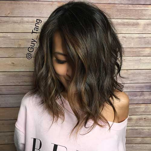 New Long Wavy Bob Hair Cuts