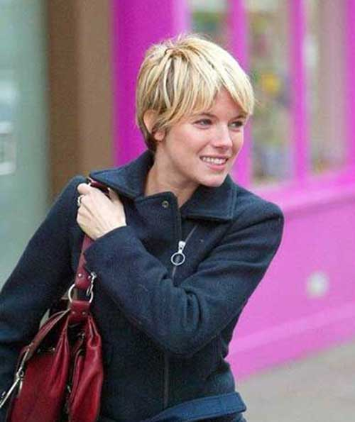 Sienna Miller Pixie Hairstyles Pictures